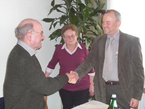 Erich Geschl, Ida Ernst, Bgm Franz Hoanzl